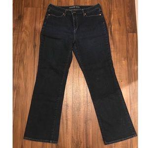 Lands' End Bootcut Leg Jeans, Size 12